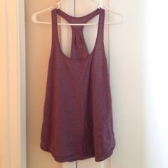 Lululemon 105 Singlet Purple Gently Used. These are so comfortable! I have several and need to part with a few. lululemon athletica Tops Tank Tops