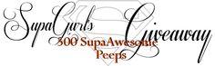 SupaGurl Books: SupaGurl's 500 SupaAwesome Peeps Giveaway