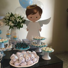 1 million+ Stunning Free Images to Use Anywhere Première Communion, First Communion Party, First Holy Communion, Christening Party Favors, Baptism Party, Cowboy Baby Shower, Baby Boy Shower, Art Festa, Baptism Decorations