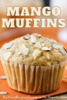 Easy Mango Muffins are easy to bake at home using pantry ingredients Muffin Recipes, Breakfast Recipes, Mango Muffins, Cake Filling Recipes, Quick Family Meals, Cake Fillings, Kid Friendly Dinner, Monday Morning, Food And Drink