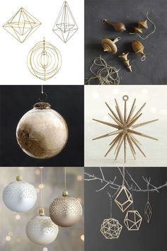 modern ornament ideas for the perfect christmas tree
