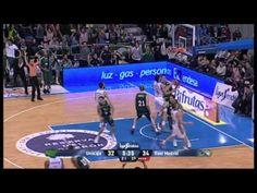 Unicaja v Real Madrid (67-91) ACB Liga Endesa Spanish Basketball Highlights [20/01/13]