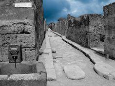 Pompei, Italia.
