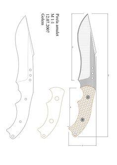 Página 1 de 1 Forging Knives, Bushcraft Knives, Knife Drawing, Knife Template, Knife Grinder, Knife Making Tools, Knife Patterns, Knife Handles, Handmade Knives