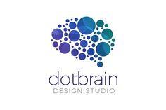 Brain Logo by exe design on @creativemarket