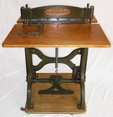 My Old Rotary Perforating Machine (Perforator) - Stamp Community Forum