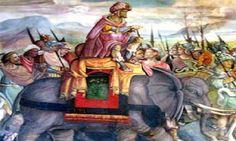 Se cuenta que una noche este rey reunió a cenar a Escipión y Aníbal