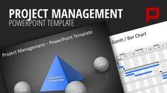 Project Management PowerPoint Templates  #presentationload  www.presentationl...