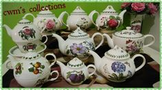 Teapots Once upon a time from my collections