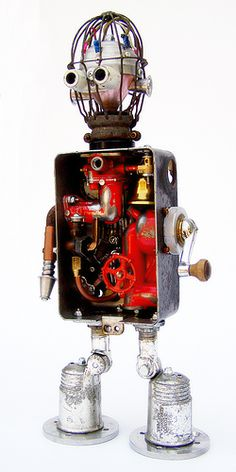 nude robot, via Flickr.