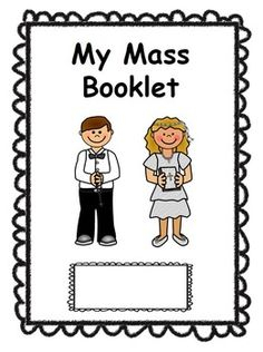 Catholic Mass Booklet for kidsCute, kid-friendly booklet with new mass responses. Colour and black and white copies available.Print in order. Can make into a booklet with a center staple.If your church has slightly different words or a different order, just message me and I will make the change and send it to you!