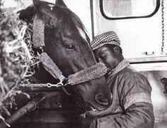 Secretariat  and his beloved groom
