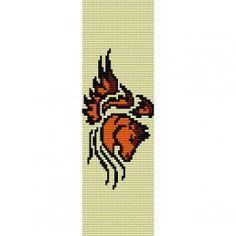 Free Bead Loom Bracelet Patterns | ... LOOM beading pattern for cuff bracelet (buy any 2 patterns - get 3rd