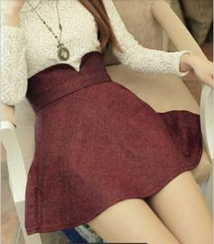 Cute vintage outfit (skirt would be cute at various lengths