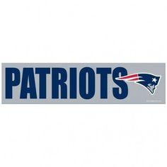 New England Patriots Decal Bumper Sticker 09884daac