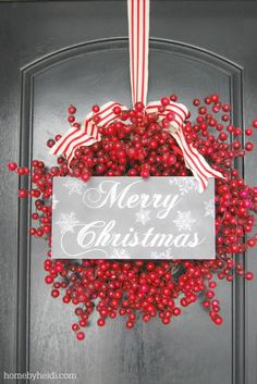 Tips for Hanging Wreaths | landeelu.com