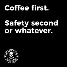 I live life on the dark side. #coffee