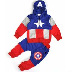 2017 New Fashion Anime Style Children Set Baby Boy Sport Sets Suit Cartoon Captain America Hoodie Sweater + pants boys Clothes - Kid Shop Global - Kids & Baby Shop Online - baby & kids clothing, toys for baby & kid Costume Halloween, Baby Boy Outfits, Kids Outfits, Kids Spiderman Costume, Captain America Hoodie, Kids Costumes Boys, Baby Shop Online, Kids Online, Kids Coats
