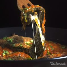 Spicy, cheesy and crispy, chiles rellenos are a beloved Mexican dish for a delicious reason. Mexican Dishes, Mexican Food Recipes, Vegetarian Recipes, Cooking Recipes, Spanish Dishes, Good Food, Yummy Food, Awesome Food, Delicious Dishes