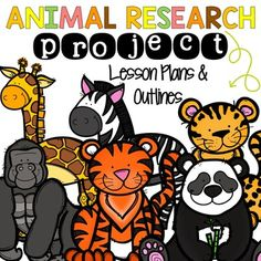 This Animal Research Project is design for grades 3-5. I have created lesson plans for each day as well as templates needed for each day. There is a set of directions, materials needed, and a full outline on what students should do each day. The project outline includes steps to writing a paper wi...