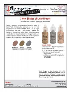 Day 1 | CHA New Product Releases: Ranger Liquid Pearls