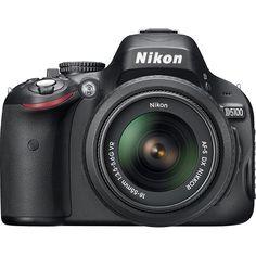 Nikon - D5100 16.2-Megapixel DSLR Camera with 18-55mm VR Lens - Black