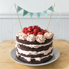 Homemade Birthday Cakes, Homemade Cakes, Just Cakes, Cakes And More, Cake Cookies, Cupcake Cakes, Oreo Cake Recipes, Girly Cakes, Watermelon Cake
