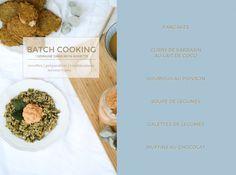 Batch cooking 1 semaine dans mon assiette | Recettes, préparation, combinaisons & menus-types, je partage avec vous une session complète de Batch Cooking