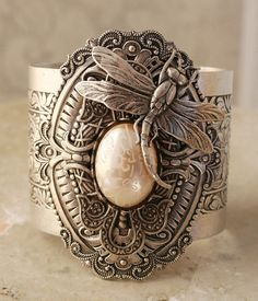Beauliful silver ring with a dragonfly - Precioso anillo de plata con libélula ʚϊɞ ~ CE♥