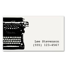 68 Best Authors And Writers Business Cards Images On Pinterest