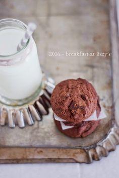 breakfast at lizzy's: Biscotti al doppio cioccolato