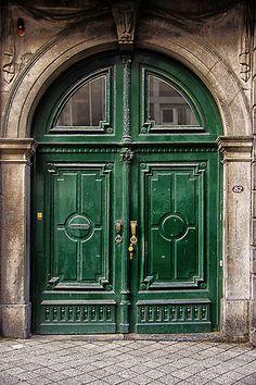 door in Maastricht, Limburg, Netherlands Grand Entrance, Entrance Doors, Doorway, Front Doors, Cool Doors, Unique Doors, Portal, Door Knockers, Door Knobs