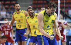 Seleção masculina de vôlei bate a França e termina 1ª fase da Liga Mundial na ponta - Olimpiada no Rio | Folha