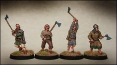 Arcane Scenery and Model Supplies presents DARK AGE IRISH Fianna with Axes Scale This range covers a large period of time. From what little we know, the Irish changed little in appearance fr Model Supplies, Irish Warrior, Three Best Friends, Early Middle Ages, Viking Age, Iron Age, Picts, Fantasy Character Design, Dark Ages