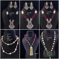 #sets #necklace #earrings #zircon #highquality #richlook  #Beautiful #lovely #elegant #festive #wedding #trendy #designer #exclusive #statement #latest #design #ethnic #traditional #modern #indian #divaazfashionjewellery available Grab them fast 😍😍 Inbox for orders & more details plz Or mail at npsales421@gmail.com Beaded Jewelry, Jewellery, Festive, Opal, Ethnic, Necklaces, Indian, Traditional, Beads
