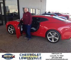 Happy Anniversary to Todd on your #Chevrolet #Camaro from Henry Boyd at Huffines Chevrolet Lewisville!  https://deliverymaxx.com/DealerReviews.aspx?DealerCode=UBM1  #Anniversary #HuffinesChevroletLewisville