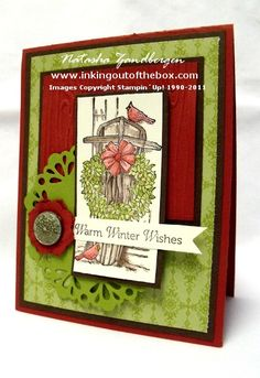 """by Natasha Zandbergen, InkingOutoftheBox **** SU """"Winter Memories"""", 2012 Holiday Mini."""