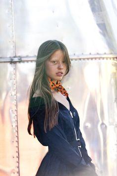 Mia Goth for Wonderland Magazine Autumn 2013 Photograph: Ben Rayner