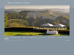 Cliente: Paolo e Noemia d'Amico  Prodotto: Sito istituzionale  Anno: 2011