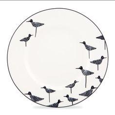 kate spade china - wickford sandpiper #birds