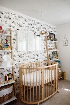 Modern nursery for a little guy with a travel bug: http://www.stylemepretty.com/living/2016/09/09/a-wanderlust-filled-nursery-for-the-smallest-jetsetter-in-your-life/ Photography: Aubrey Greene - http://aubreygreene.com/