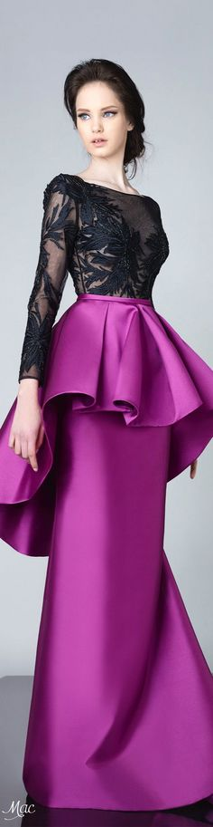 Edward Arsouni Haute Couture Spring Summer 2016 represents the most elegant styles of the year for a lady with a sassy sense of fashion and a daring spirit. Lovely Dresses, Beautiful Gowns, Beautiful Outfits, Couture Dresses, Fashion Dresses, Moda Fashion, Designer Gowns, Occasion Dresses, African Fashion