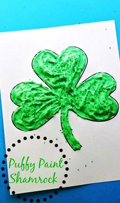 Easy St. Patrick's Day Crafts For Kids, DIY St. Patrick's Day Craft Ideas,Easy St. Patrick's Day decor ideas