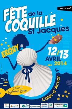 Venez nous retrouver sous le chapiteau au port d'Erquy pour une démonstration à 4 mains autour de la coquille Saint-Jacques samedi 12 et dimanche 13 avril.