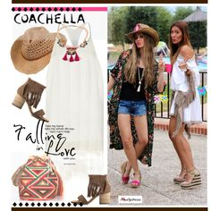 boho summer style by paculi on Polyvore featuring moda, River Island and nastydress