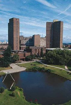 Aston University Tower 2003 - 2007 in Birmingham. Founded 1966.