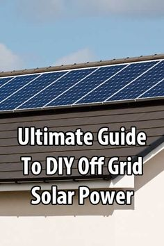 If you're at all interested in setting up a solar power system, then I have the ultimate video series for you. It was created by @tinhatranch