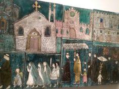 Uppsala, Paper Mache, Priest, Finland, Sculpture Art, Murals, Folk Art, Artworks, Tiles