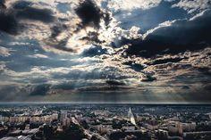 #warsaw #clouds Wojtek Dobrogojski via:Warszawa Nieznana