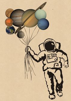 solar system as balloons - Google Search